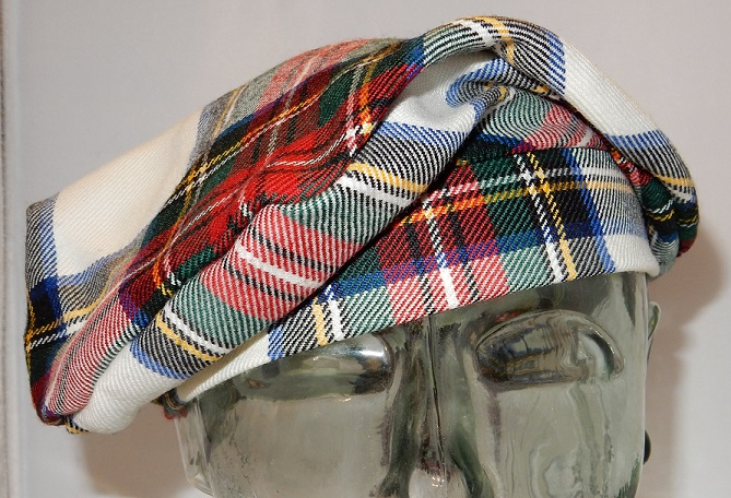 Stewart Dress Modern Tartan Bonnet Special