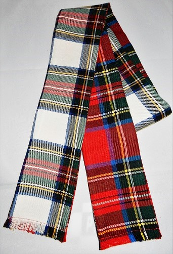 Scottish Handfasting Wrap Double Tartan
